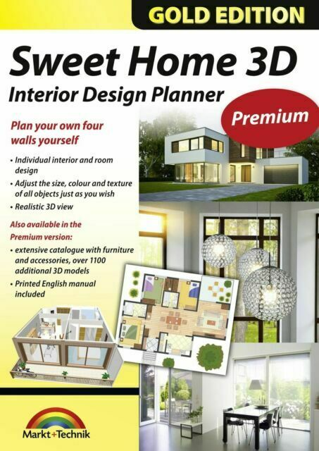 Sweet Home 3d Premium Edition Interior Design Planner With An Additional 1100 For Sale Online Ebay