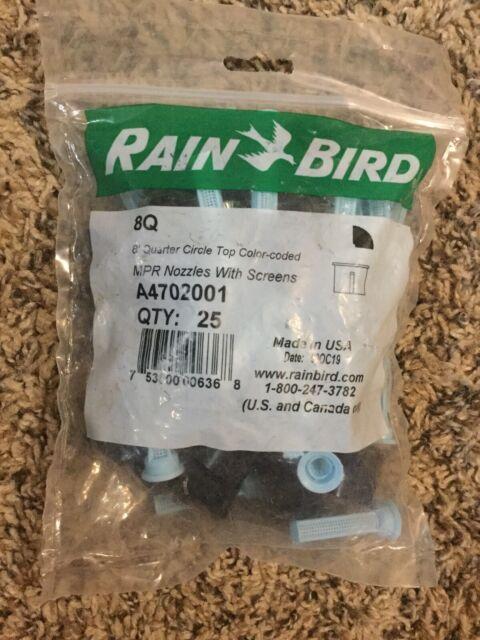Rainbird 8Q 8 Quarter Circle Pattern Nozzle 90 Degree