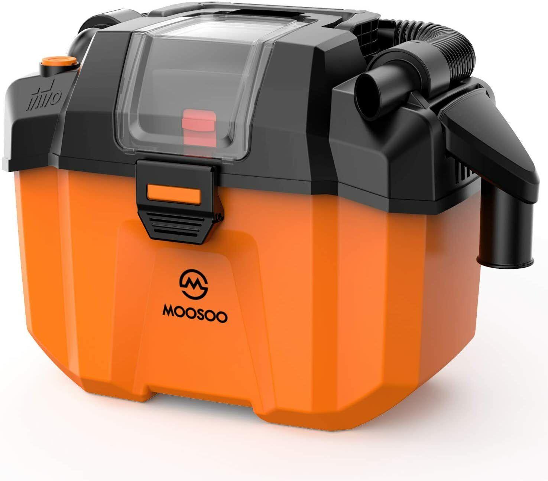 MOOSOO 4 in 1 Portable Shop Vacuum For Car Detailing