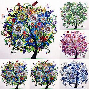 Full Drill 5D Diamond Painting Art Flower Cross Stitch Kits Embroidery Decor