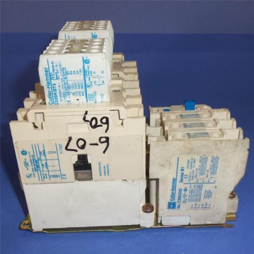 B1 CUTLER-HAMMER 110//120V COIL 27A NEMA SIZE 1 REVERSING STARTER AN56DN0 SER