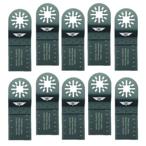 10 or 20 x 35mm Fine Tooth Blades for Fein Multimaster Bosch Makita Multitool