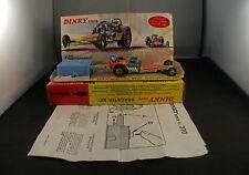 Dinky Toys GB 370 Dragster set en boite peu fréquent