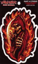 Aufkleber Modell Flaming Reaper 10,1 x 6,5 cm