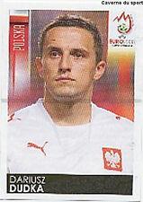 N°235 VIGNETTE PANINI DUDKA POLAND POLSKA EURO 2008  STICKER