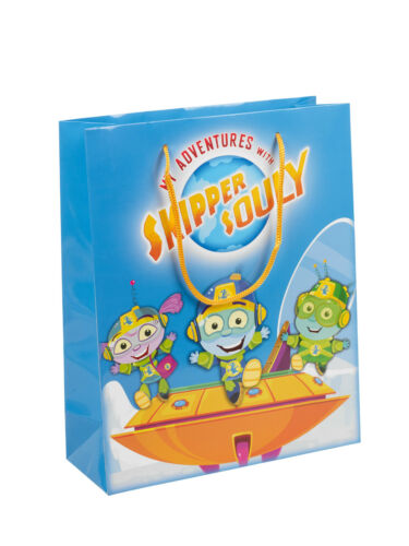 Skipper Souly Rope Handle Birthday Food Goodies Party Bags Boxes Kids Gift Large