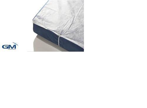 LITERIE Jetable Alèse Plateau non-tissé blanc 140x190 cm (carton 10 pcs) OJD263