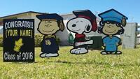 Customized Graduation Decorations