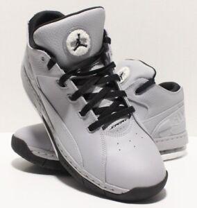 cd8757d88bbb Jordan Ol  School Low Mens 317765-014 Wolf Grey Black Basketball ...