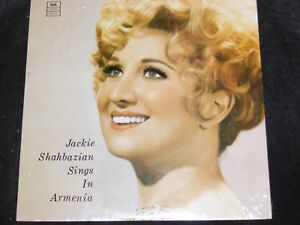 Private Issued Still SEALED Armenian Music LP JACKIE