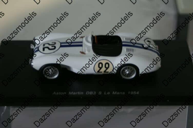 en venta en línea Spark Aston Martin DB3 S Lemans 1954 resina resina resina escala 1 43 S2437  Precio por piso