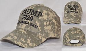 Make-America-Great-Again-Donald-Trump-2020-Hat-45th-President-NWT-MossyOak-Camo