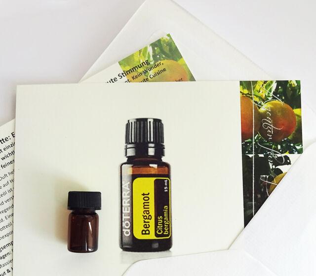 Probierset mit 1ml reinem Bergamotteöl von doTERRA für Aroma, Haut  & gute Laune