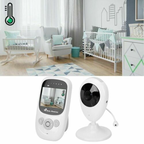 Baby Monitor 2.4GHz Color Wireless LCD Audio Talk Night Vision Digital Video UK