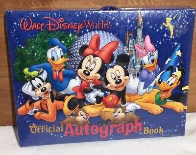 Walt Disney World Official Autograph Book Brand New.