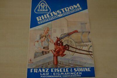 198008) Eisele - Rheinstrom Jachepumpe - Prospekt 195?