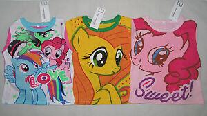 My Little Pony Pajamas Rainbow Dash Pinkie Pie Apple Jack