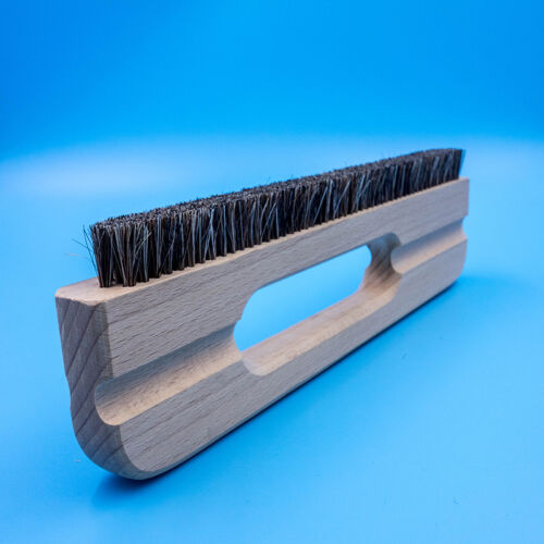 11 inch Long Wallpaper Smoothing Brush Flat Tool Bristle Brush with Wood Handle
