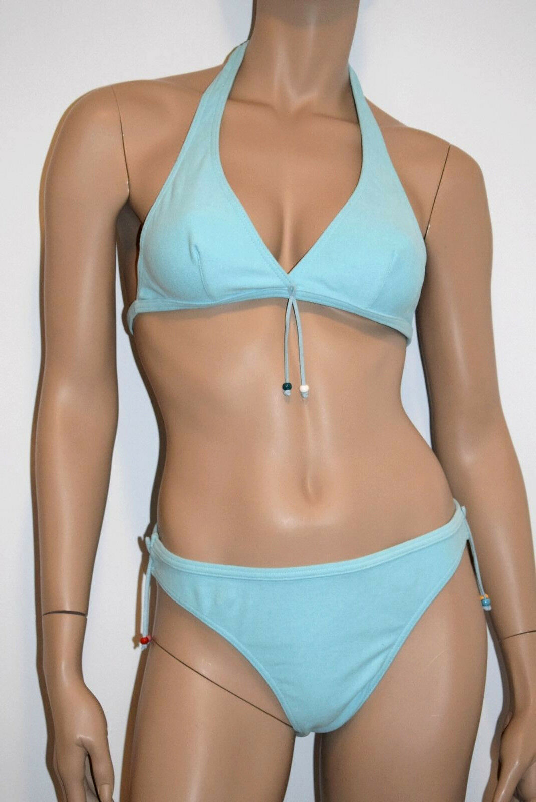 Kiwi Bikini 2 P.Dreieck Größe 4-XL/FR44/EU42 Blau Farbe Türkis' Danda '