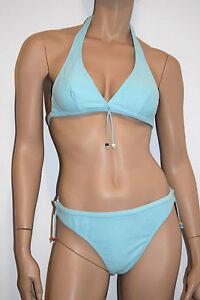 FidèLe Kiwi Bikini 2 P. Triangle Taille 4-xl/fr44/eu42 Couleur Bleu Turquoise 'danda'