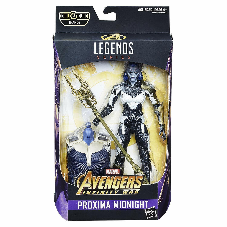 Avengers Infinity  War Proxima Midnight Marvel Legends W Thanos BAF Endgioco  molto popolare