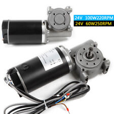 Automatic Door Dc Worm Gear Motor With Encoder Brushed Motor Engine 60with100w