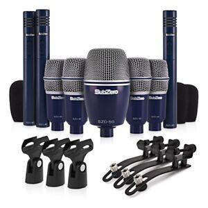 Subzero Szd 8000 Drum Mic Set 8 Piece : subzero szd 8000 drum mic set 8 piece ebay ~ Vivirlamusica.com Haus und Dekorationen