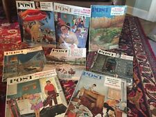 8 Saturday Evening Post Magaines 1960's Complete 3 with Coca Cola Ads