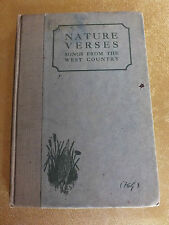 Nature Verses Songs from the West Country by Sir Francis Carruthers Gould Hardba