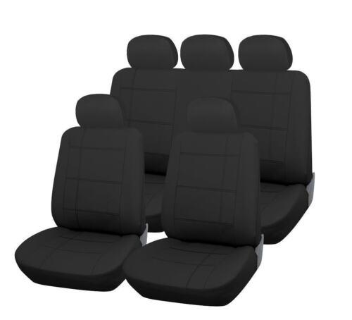 Hyundai I800 todos los años mirada de cuero negro Set completo