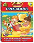 School Zone Giant Workbooks: Preschool by Hinkler Books (Paperback, 2010)
