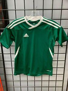 Details about Adidas Tiro 11 Soccer Jersey Green/White