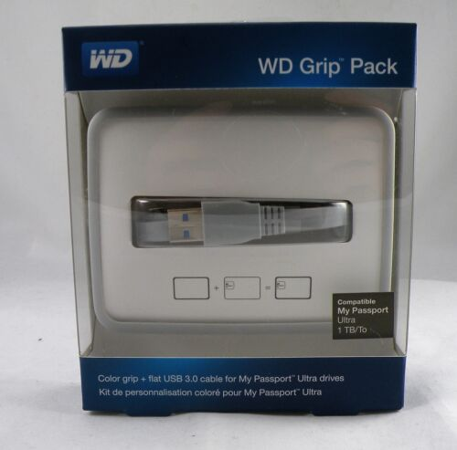 WD Grip Pack for 1TB My Passport Ultra grey color
