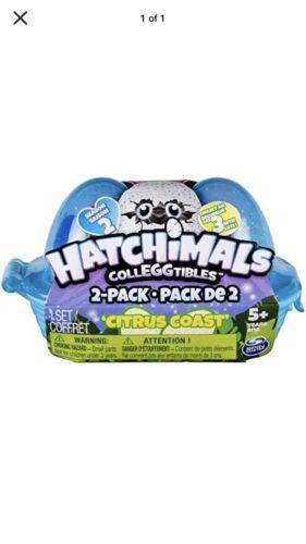 Hatchimals CollEGGTIbles Series 2 Citrus Coast Blind Carton 2 Pack