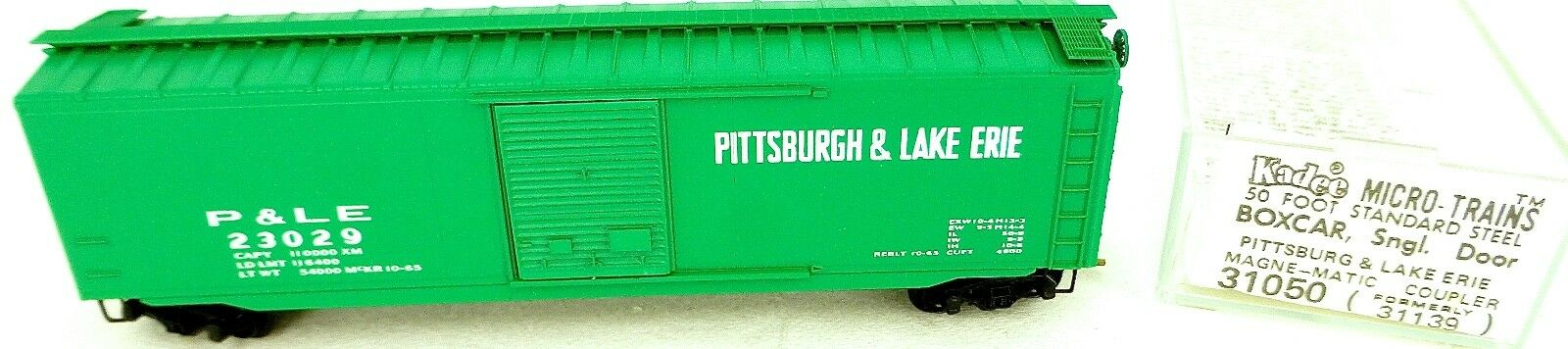 50´ Estándar BoxCoche Pittsburgh Erie 23029 Micro Trains Linea 31050 N 1 160 C Å