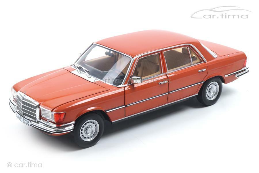 Mercedes-Benz 450 SEL 6.9 1976-Inca Orange met. - NOREV 1 18 - 183459