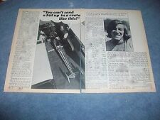 "1974 Drag Racing Profile Article on Teenager John Stewart ""You Can't Send A Kid"