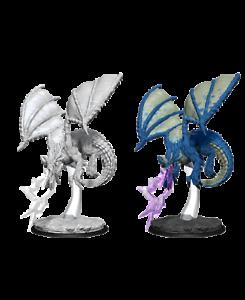 D/&D nolzur/'S MARVELOUS NON VERNICIATA Miniatures Black Dragon wyrmling