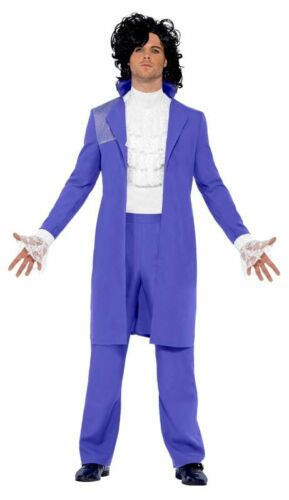 Rock Pop 80er Kostüm Amadeus Prince Anzug Herren