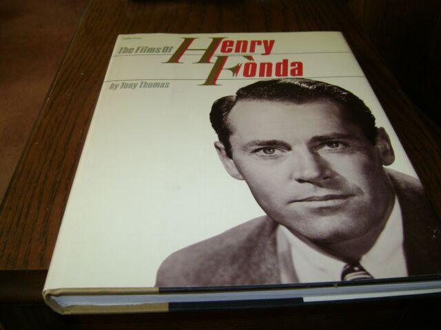 The Films of Henry Fonda by Tony Thomas (1983, Hardcover)