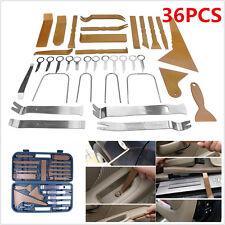 Universal 36pc Car Trim Panel Plastic Dash Remove Pry Stereo Refit Tool Kit+Case