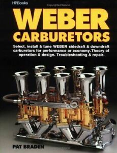 Weber-Carburetors-Book-Manual-Repair-Sidedraft-Downdraft-Install-Tune-Trouble