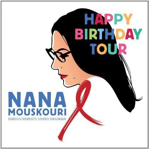 1 of 1 - Nana Mouskouri - Happy Birthday Tour [New CD]