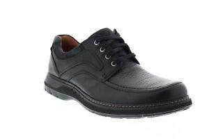 Clarks Un Ramble Lace Mens Black Oxfords /& Lace Ups Plain Toe Shoes