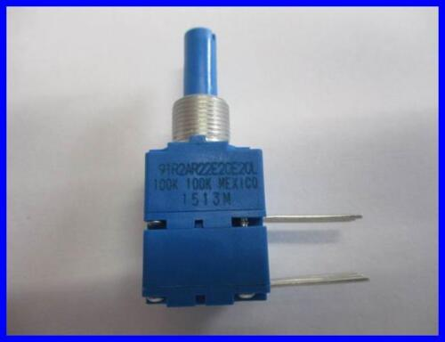 Bourns audio estéreo potenciómetro 100kω dual lin 1//2w Ø 6,35 mm 1 unidades