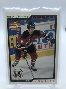 96/97 Score SPECIAL ARTIST'S PROOF Phil Housley Devils