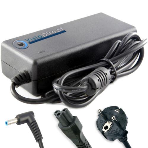 Alimentatore per portatile HP COMPAQ 14-R003NF 14-R051BR 14-R000ST 45W 19.5V