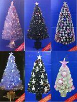 Fibre Optic Christmas Tree with star & bubble/ LED lights 80cm/ 120cm/ 180cm New