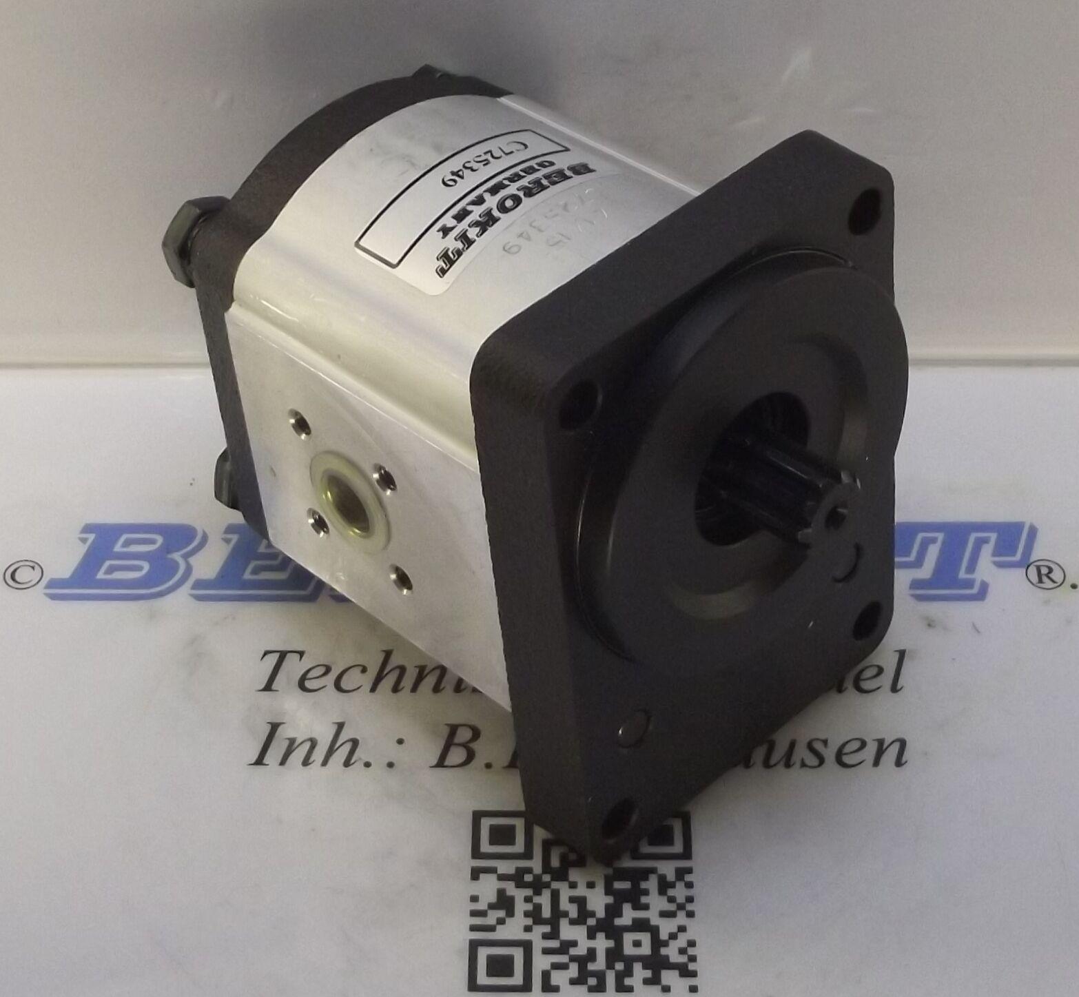 Eicher Wotan 3014 3017 3018 3022 3105 3133  Hydraulikpumpe 22ccm mehr Leistung