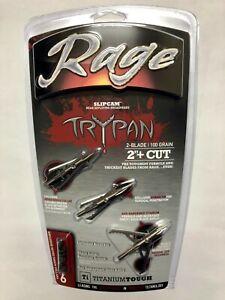 Rage-Hypodermic-Trypan-Titanium-Broadhead-100-Grain-2-034-Cut-3-Pack-R35100